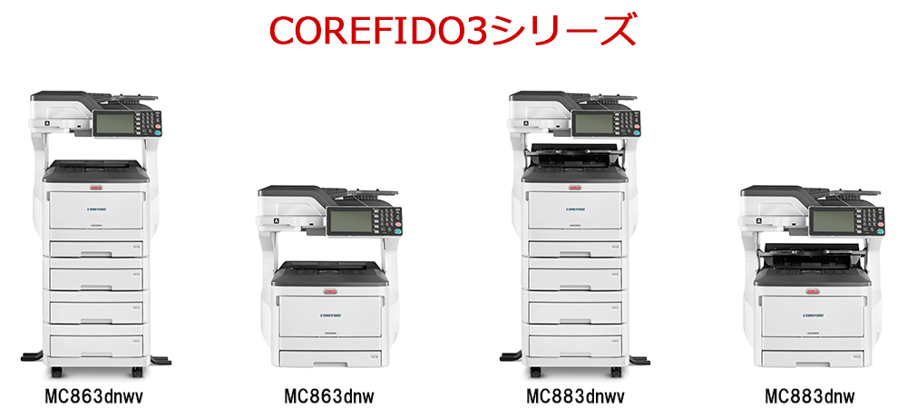 COREFIDO3シリーズ